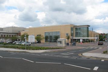 Newham University hospital building